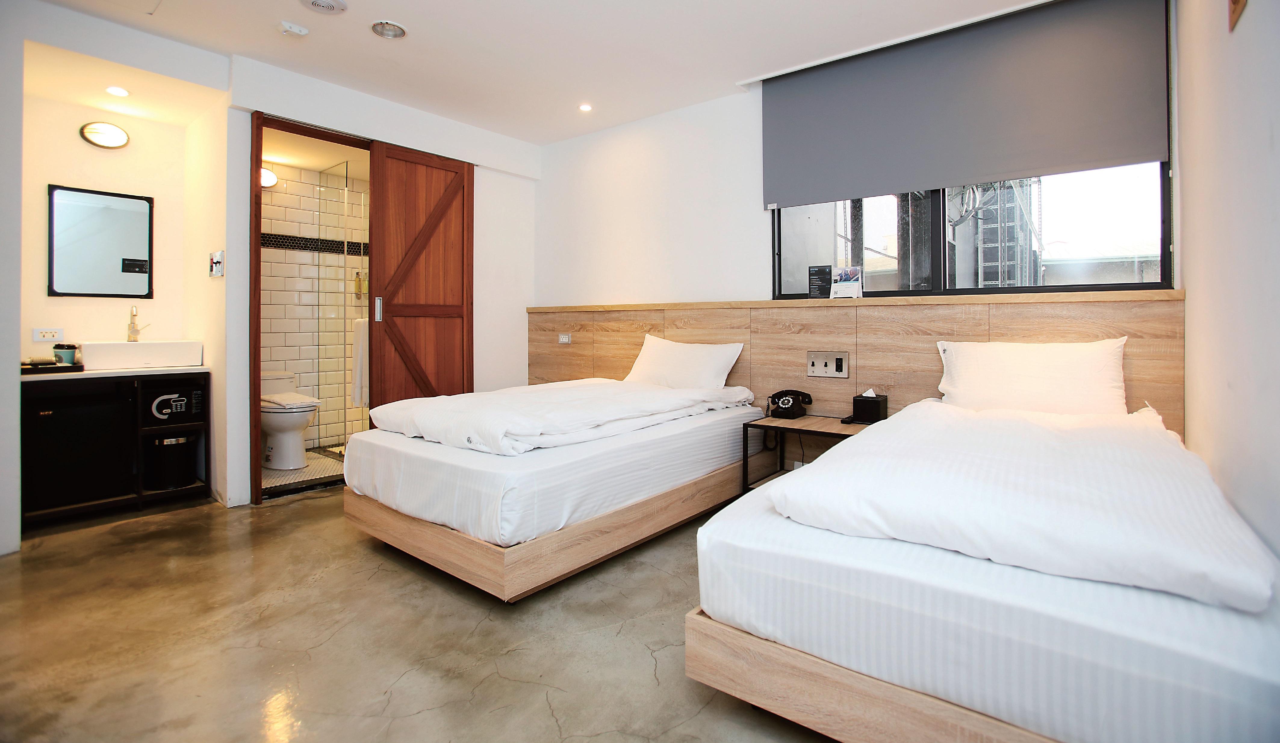 鵲絲旅店CHASE Walker Hotel(臺中市旅館352號)