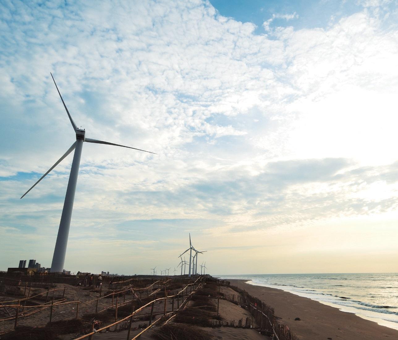 觀園風力發電