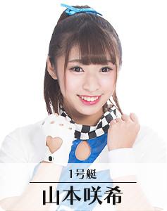 1号艇:山本咲希