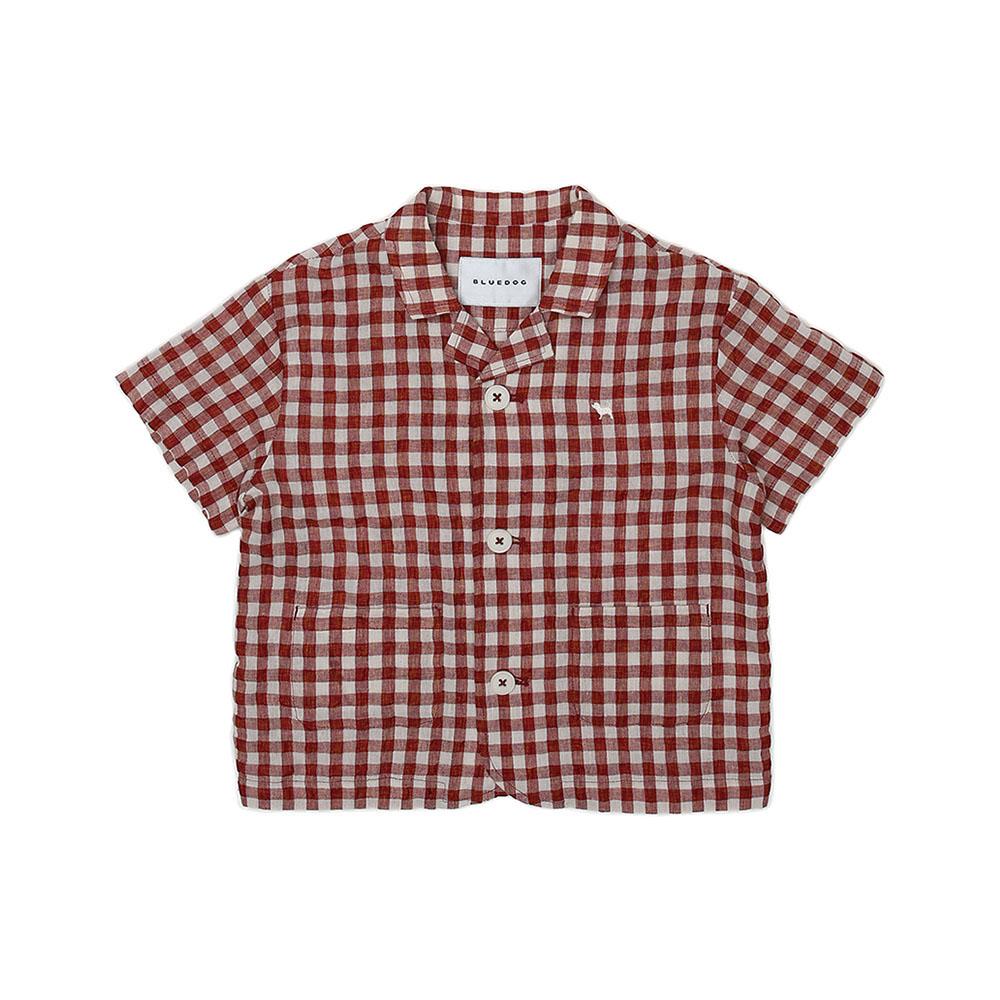 (BR)고방체크카라셔츠 21435-322-02