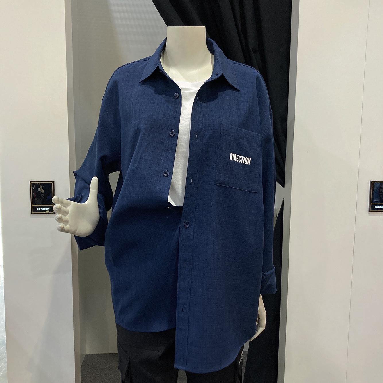남녀공용 폴리카치온 등판 전사 셔츠 (ml2-yu329)