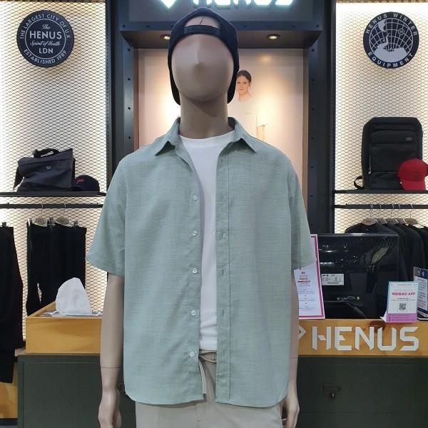 헨어스 남녀공용  시원한 여름 셔츠 HSG480