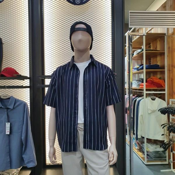 헨어스 남녀공용  시원한 여름 셔츠 HSG482