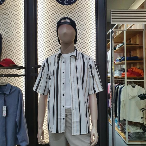 헨어스 남녀공용  시원한 여름 셔츠 HSG483