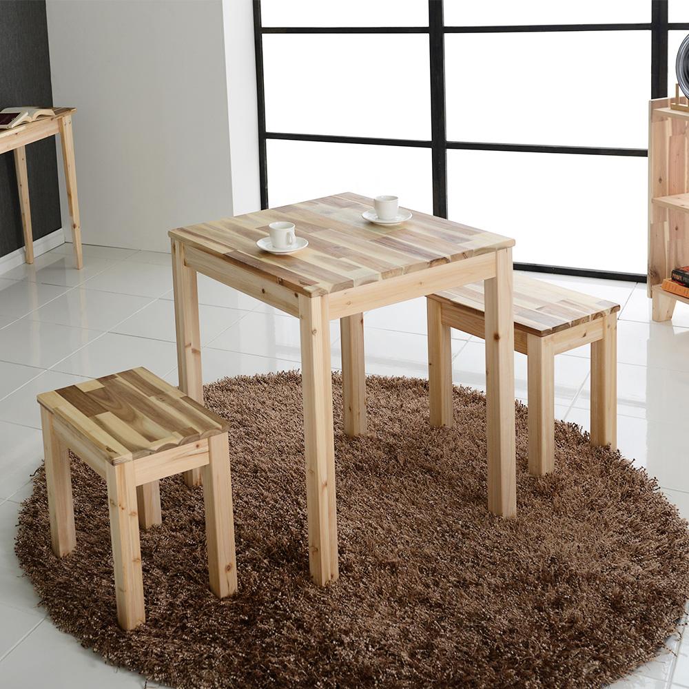 테네로 원목 테이블 600×600 삼나무,아카시아