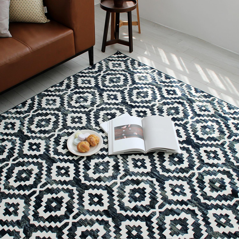 루벤 빈티지 패턴 러그카페트 14763-3161 (135x195cm)