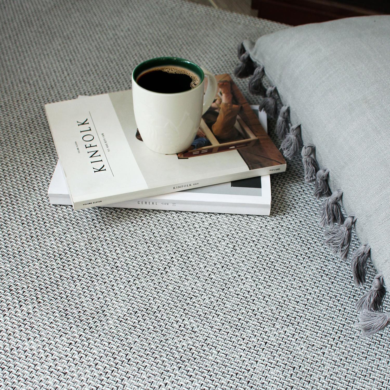 라탄 극세사 러그카페트 (140x200cm) 5color거실물세탁가능사계절