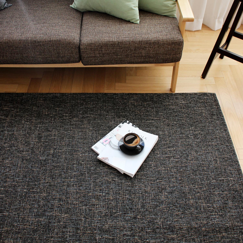 모카 빈티지 패턴 극세사 러그카페트 (대형 200x290cm) 3color 거실물세탁가능