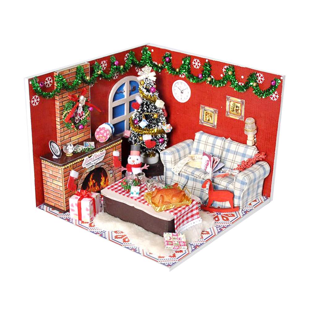 DIY 미니어처 하우스 - 메리 크리스마스