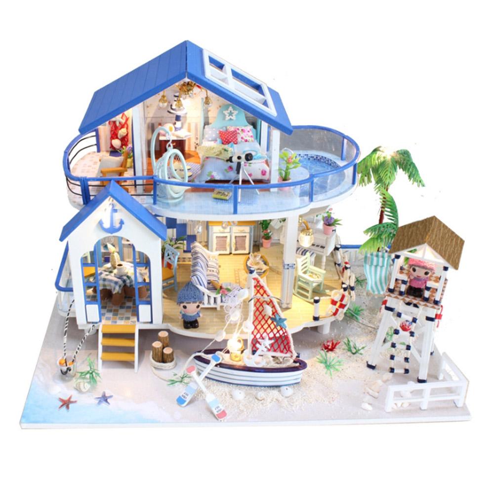 DIY 미니어처 풀하우스 - 비치 하우스