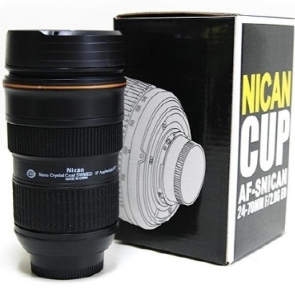 카메라 렌즈 텀블러 AF 물병 커피 병 추카추카넷