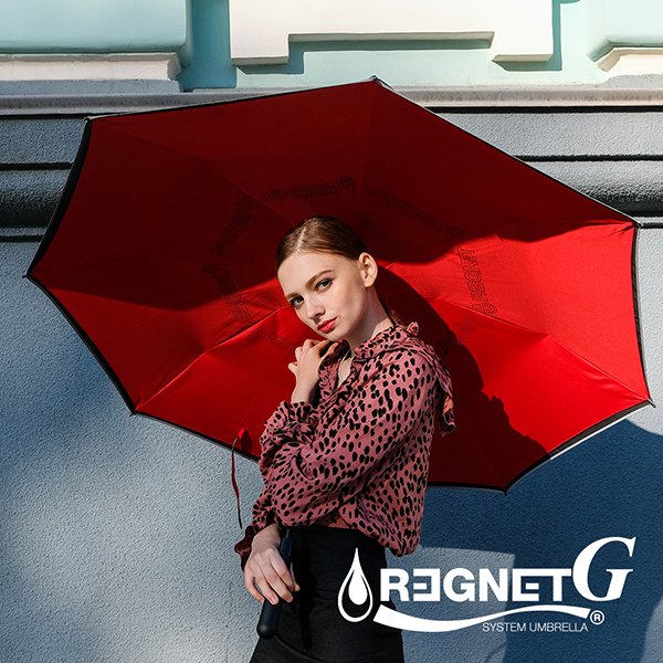 [REGNET] 레그넷 G. 친환경 빅사이즈 자동 접힘 거꾸로 우산