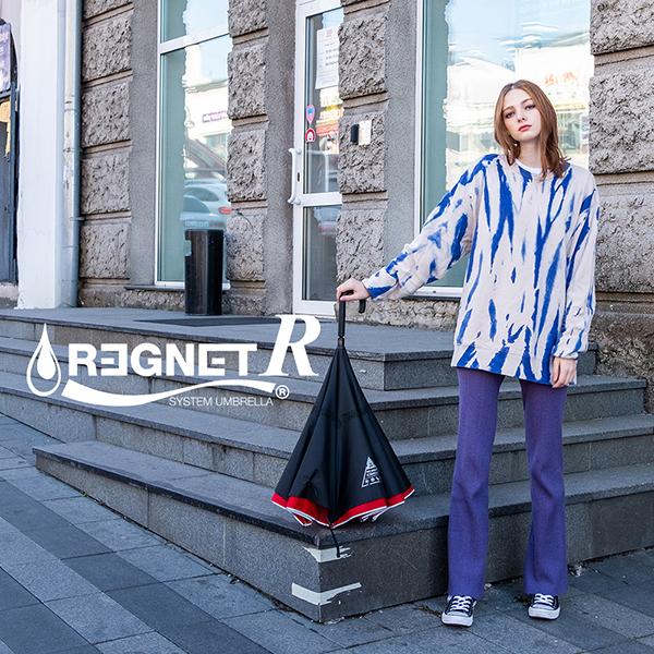 [REGNET] 레그넷 R. 친환경 소재를 사용한 수동 거꾸로 우산
