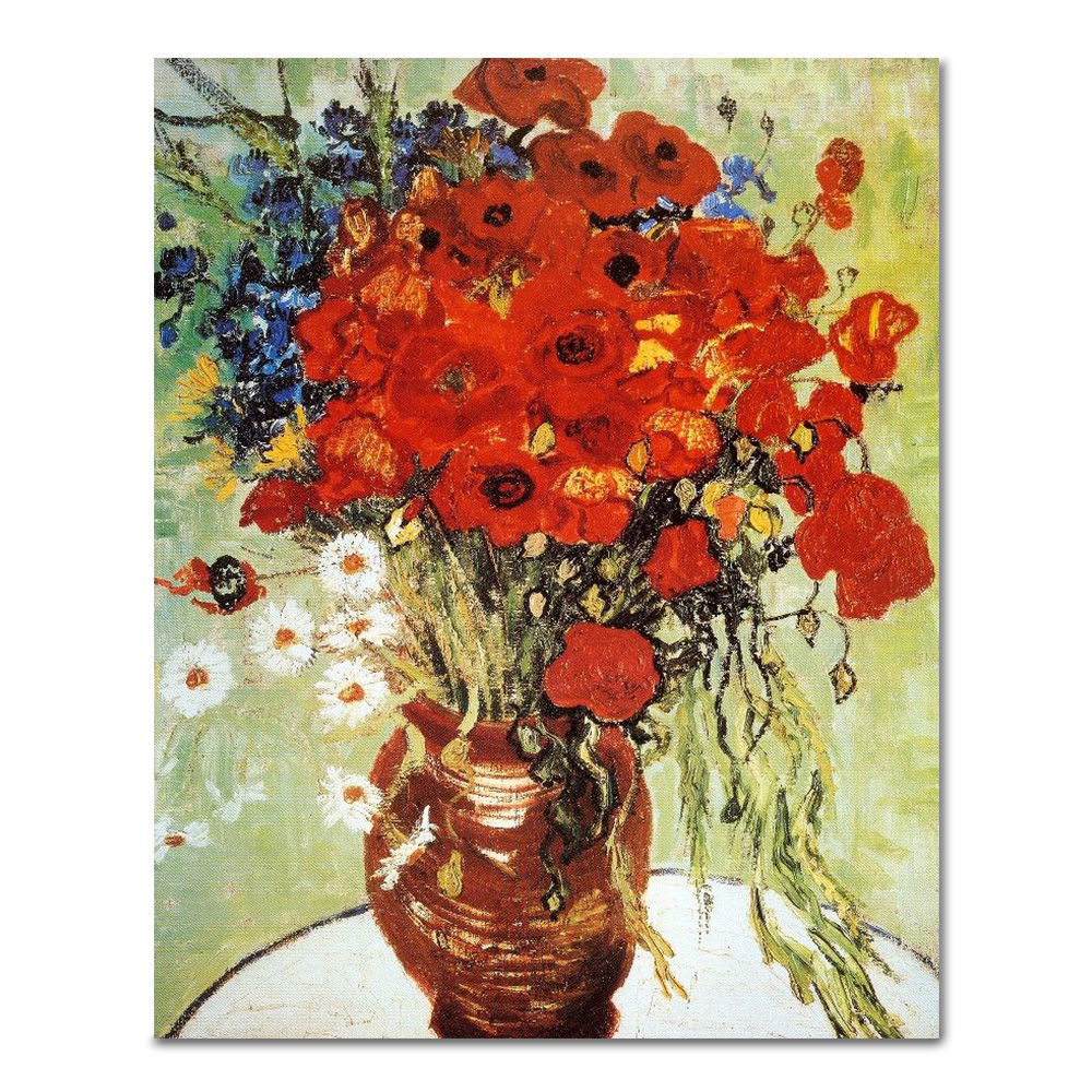 DIY 페인팅 고흐의 붉은꽃 PG09 (40x50)