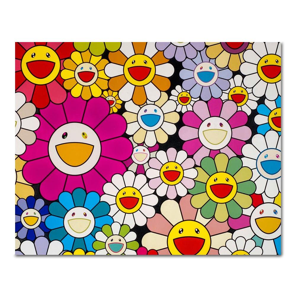 DIY 페인팅 웃는 꽃들 PG06 (50x40)