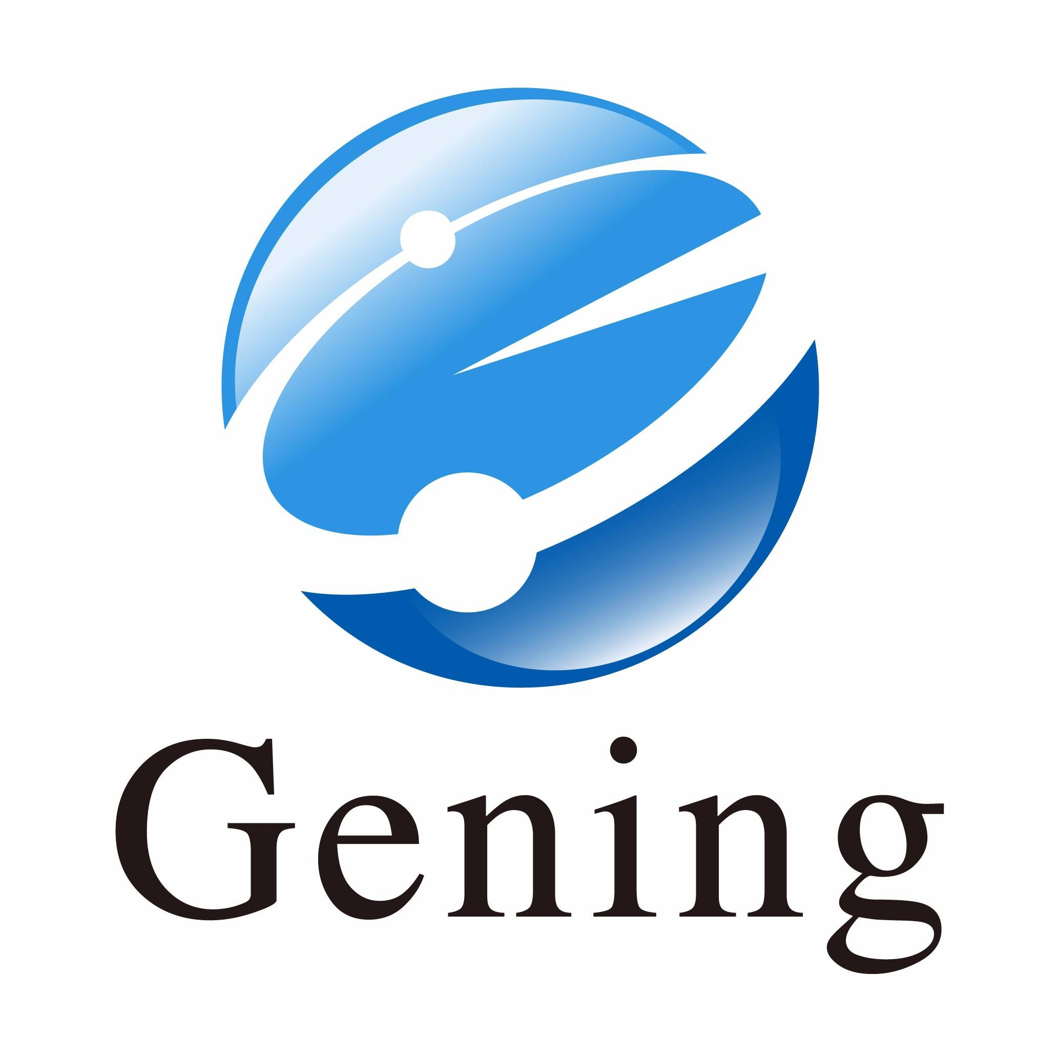 株式会社ジーニングのロゴ画像