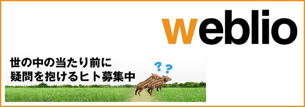 ウェブリオ株式会社の新規事業の立ち上げに関りたい方、募集!のカバー画像