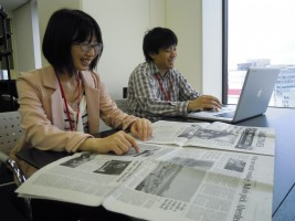 株式会社クロスデザインの若いメンバーと、デザイナーとしての基礎固めができます!Web/書籍/雑誌/新聞 等のサムネイル画像
