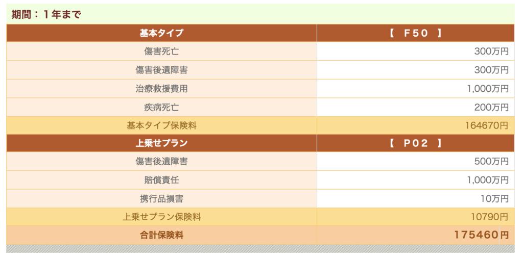 東京海上日動 長期海外旅行保険