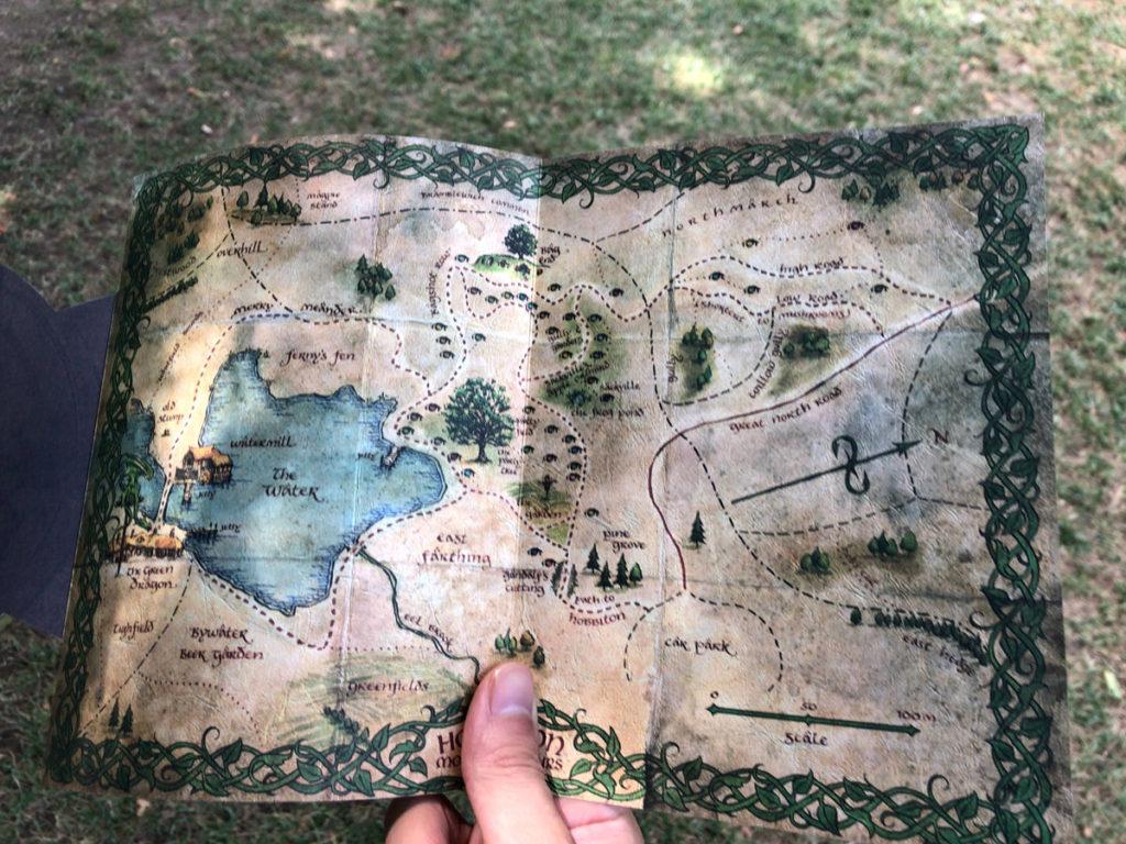 ホビトンのマップ