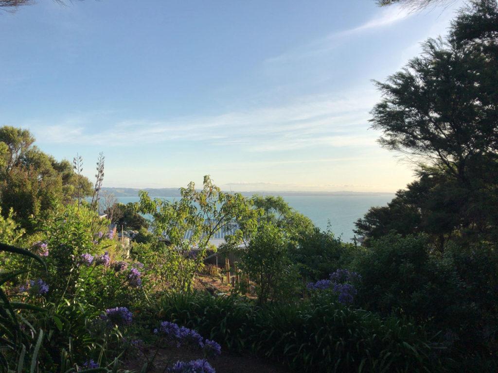 Waiheke Island の家から見える景色