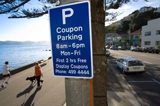 Coupon Parking の標識