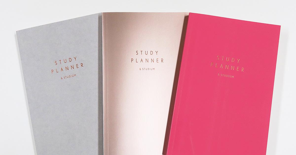 勉強の計画は楽しく可愛く!大人気『STUDY PLANNER(スタディプランナー)』を3名様にプレゼント