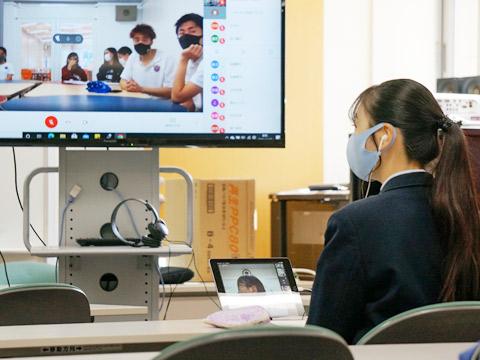 ICTを活用したオンラインミーティングを実施