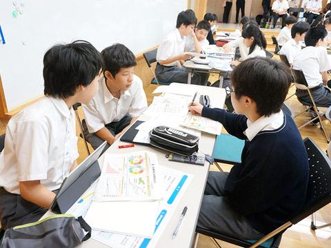 グループ学習の様子