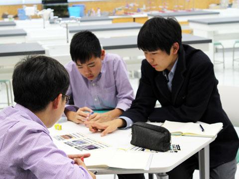 どこでも疑問解決できる武南の学習スペース