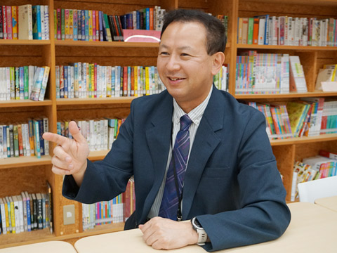 岡本眞一郎先生
