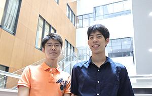 鎌田さん(左)と、長屋さん(右)