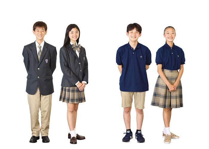 制服 標準服、夏服・コーディネート