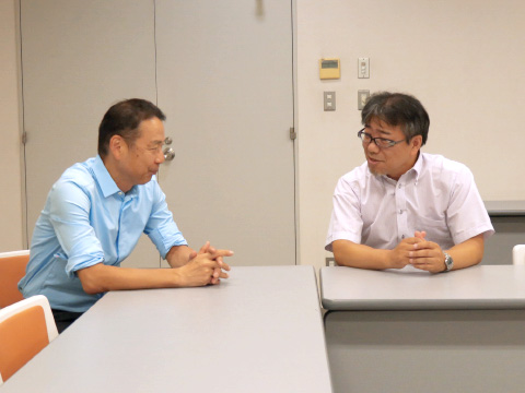中川先生と西村先生