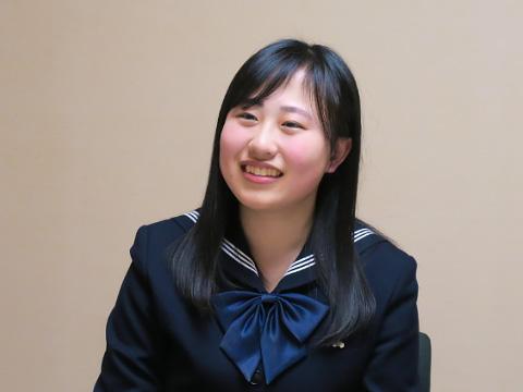 特進留学コース 高校3年生 大前友紀恵さん
