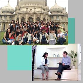 高2に体験するイギリス短期留学での風景。