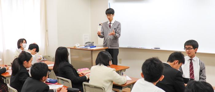 """""""生徒が主役""""を主導する学年委員会の活動"""