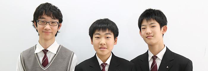 「文武両道」な学園生活を送る3人