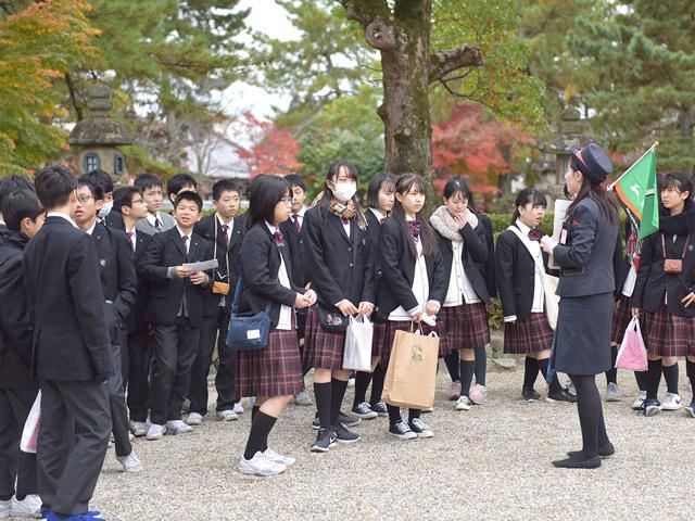 修学旅行 奈良公園訪問(奈良)