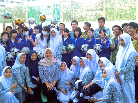 インドネシアの留学生
