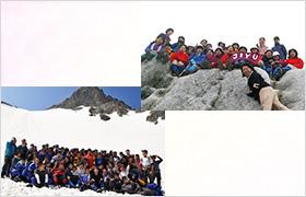 遠足(登山)の風景