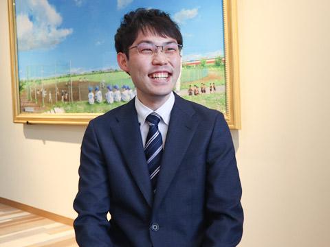英語科の岩井先生