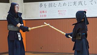 剣道部のようす