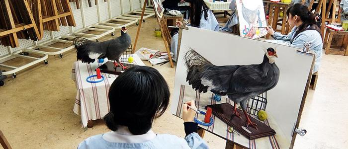 感性や精神力、個性が磨かれる美術教育