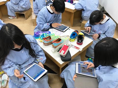 1人1台のiPadを学習に役立てる授業