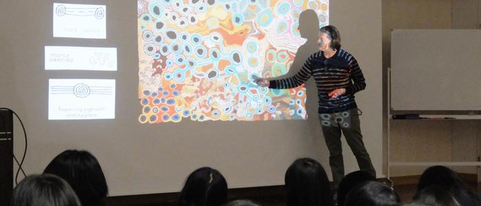 美術と融合した英語授業×ICT教育