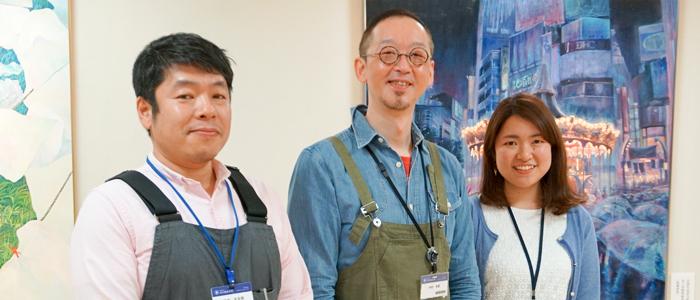 専門性の高い教員の授業が受けられる「工芸・立体コース」