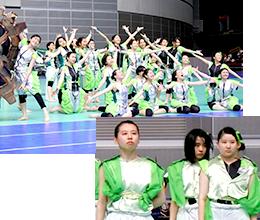 緑色・竹組