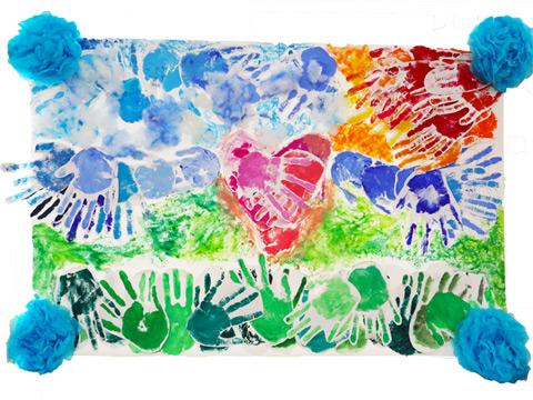 Kさんのクラス、中学2年2組の作品