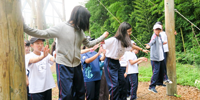 JSG生の心の根っこを育む「アドベンチャーキャンプ」に密着!